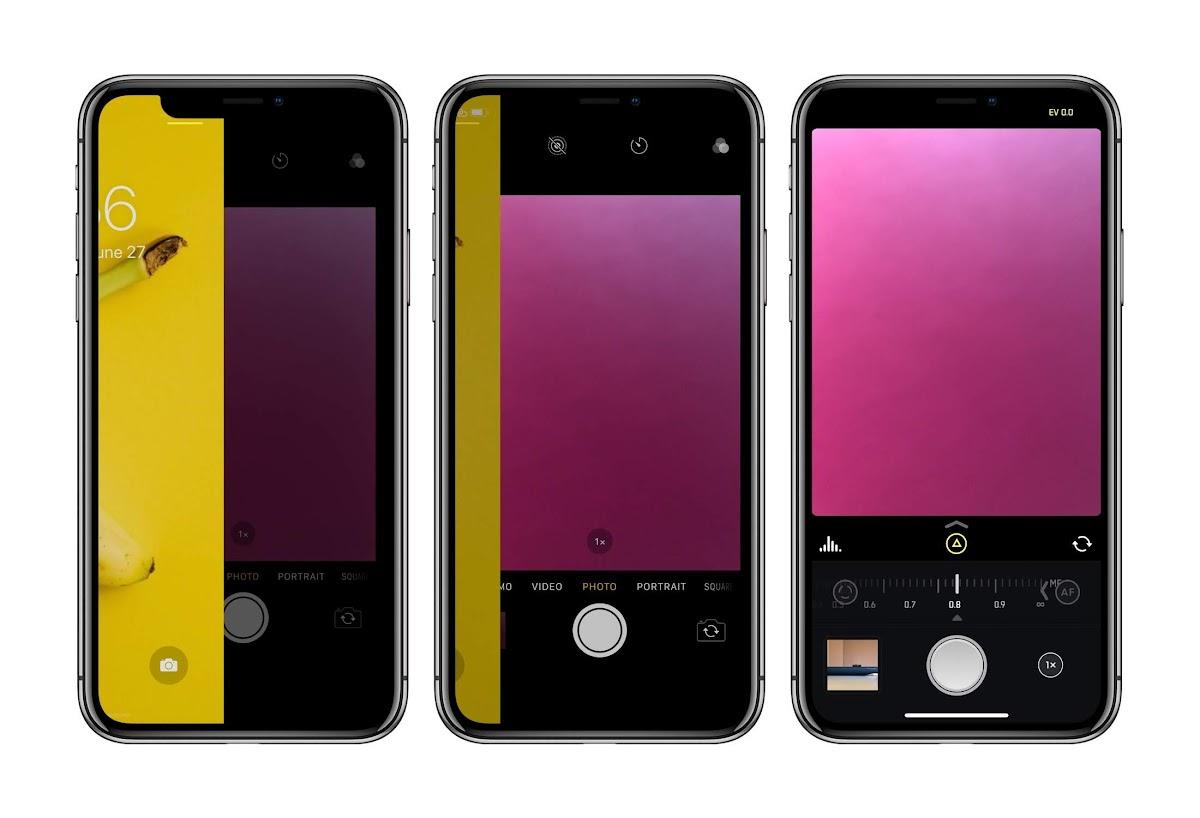 Iphoneのロック画面から好きなカメラアプリを開く方法 Ios13