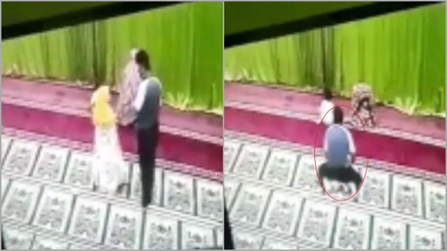 Biadab! Pria Ini Lecehkan Bocah Perempuan yang Sedang Salat di Masjid