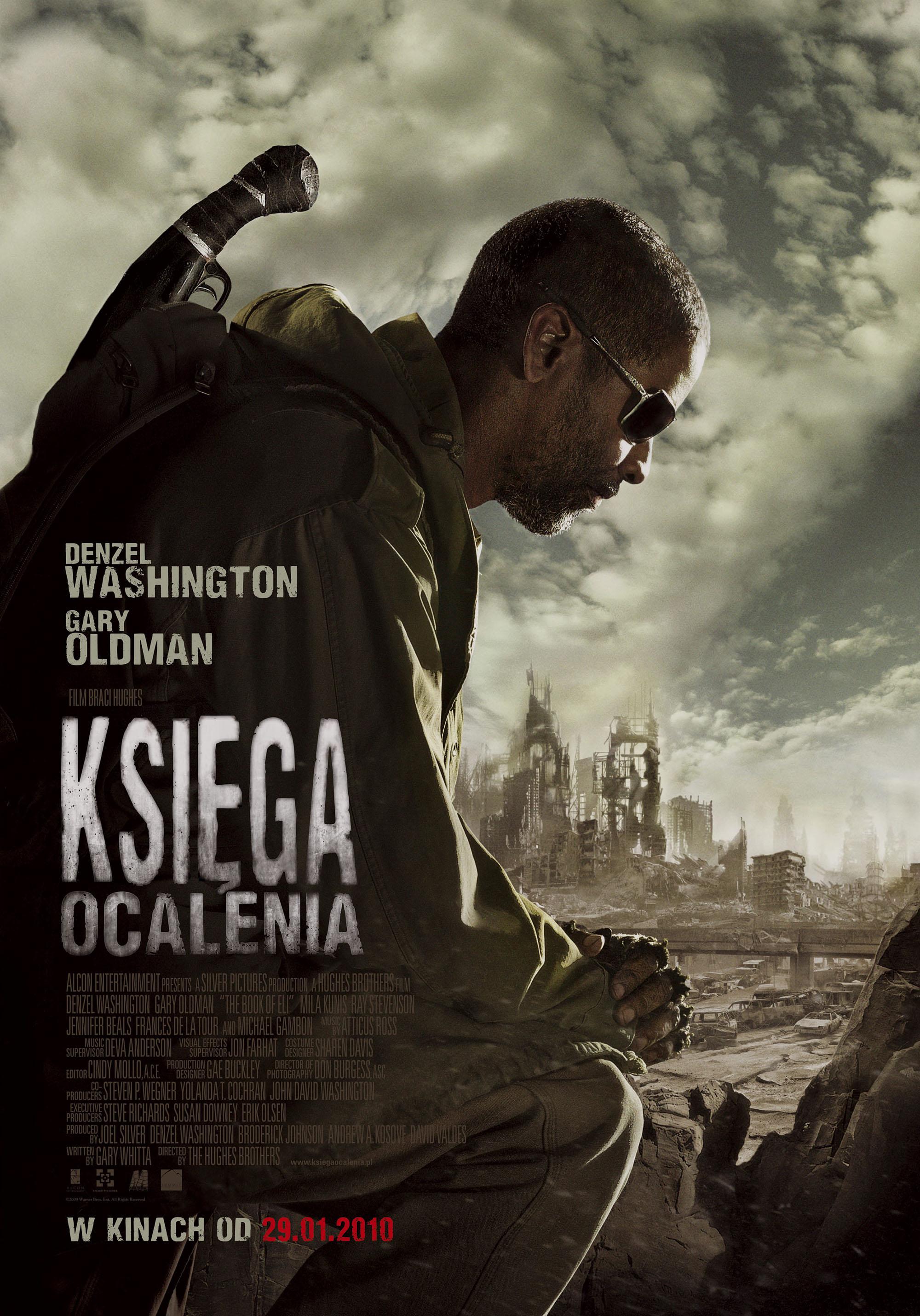 Polski plakat filmu 'Księga Ocalenia'