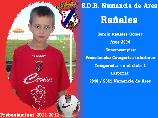ADR Numancia de Ares. Prebenxamíns 2011-2012. RAÑALES.