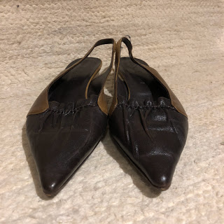 Marni Slingback Kitten Heels