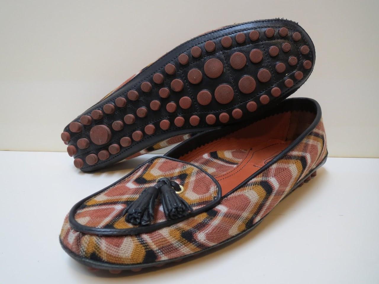 Missoni Tassel Loafers