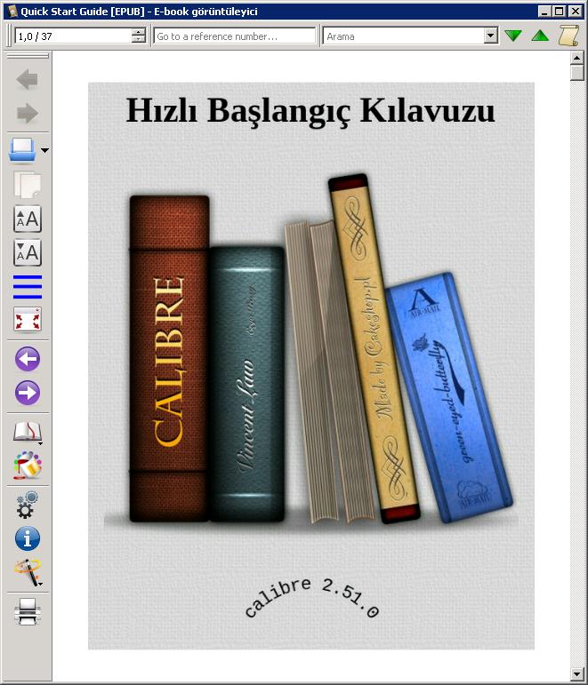 Calibre 3.15.0 Türkçe + Portable