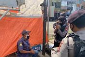 Serang Bermasker, Ditsamapta Polda Banten Himbau Masyarakat Sambil Berpatroli R2