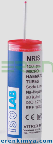 Sodyum Heparinli mikro hematokrit tüpü