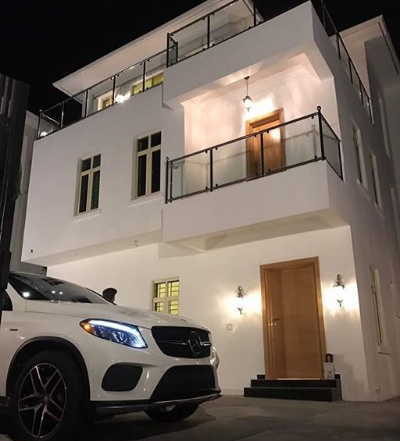 Davido Completes His New Lekki Mansion, Sets To Move In