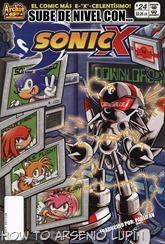 Actualización 26/07/2018: Se agrega el numero 24 de Sonic X por Pablo_Av para The Tails Archive y La casita de Amy Rose. Sonic, Knuckles, Amy y Tails ofrecen una entretenida y asombrosa demostración de sus increíbles habilidades en Station Square TV, ¡ y Eggman está mirando! Un nuevo robot misterioso que ha creado por el descarga todas las habilidades del grupo junto con algunos talentos adicionales que presencia. Por supuesto, Eggman planea enviar al robot trucado para destruir a nuestros héroes estrella. ¿Podrán los ciudadanos mas famosos de la Aldea Knothole vencer a un enemigo que puede hacer lo mismo que todo ellos y más?
