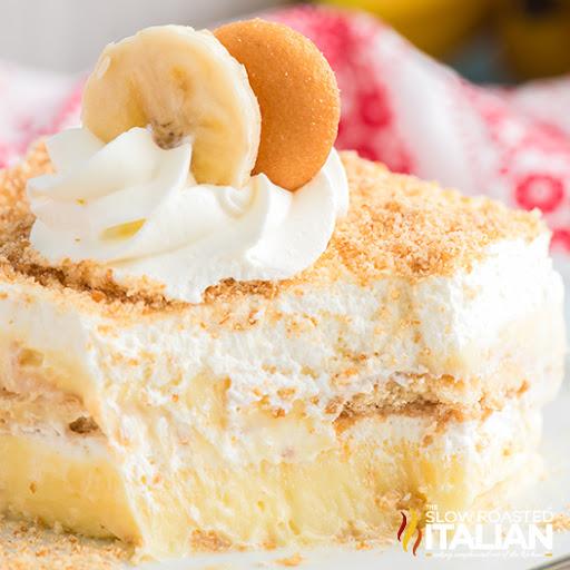 Banana Pudding Ice Box Cake