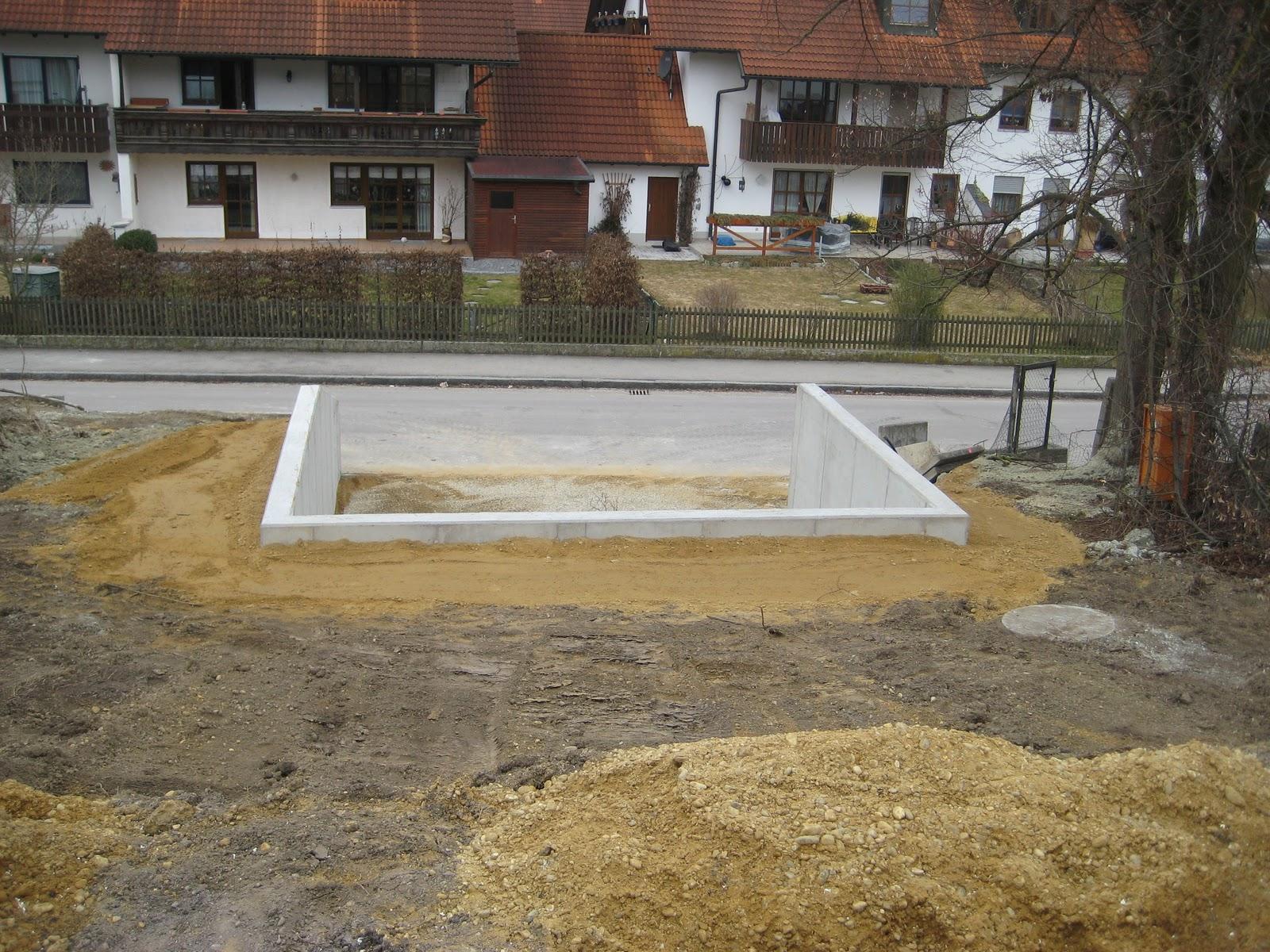 unser hausbau: das carport ist fertig