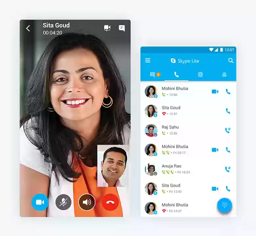 skype lite new way to video chat on 2g