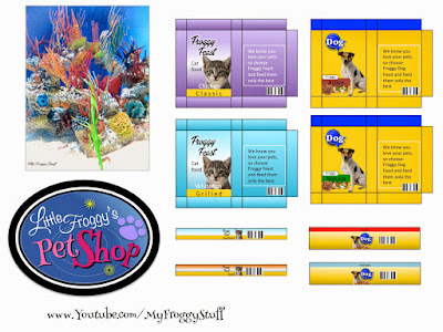 My froggy stuff how to make a doll littlest pet shop plus free from food printables ccuart Choice Image