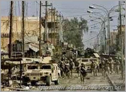 A invasão criminosa e golpe americano sobre o Iraque