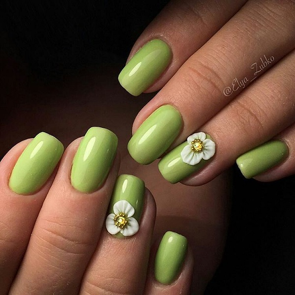 Amazing Holiday nail art idea for Summer - fashionist now