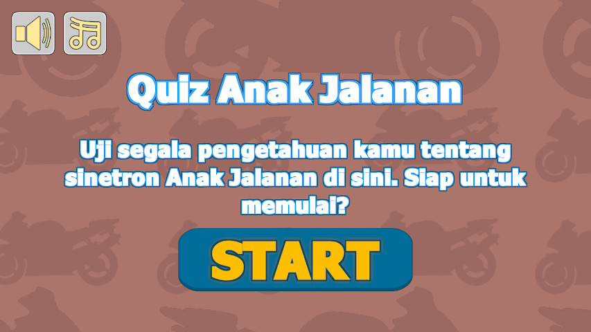 android Quiz Anak Jalanan Screenshot 0