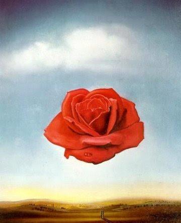 Rosa meditativa.- Salvador Dalí
