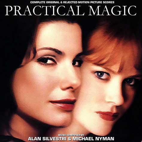 Sandra Bullock y Nicole Kidman en la portada de Practical magic