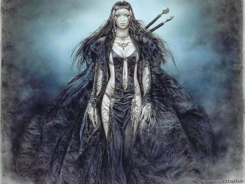 Dark Beauty In Black, Demonesses