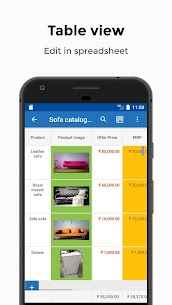 Table Notes – Pocket database & spreadsheet editor Mod Apk Download For Android 1