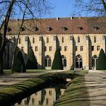 Abbaye de Royaumont : aile est