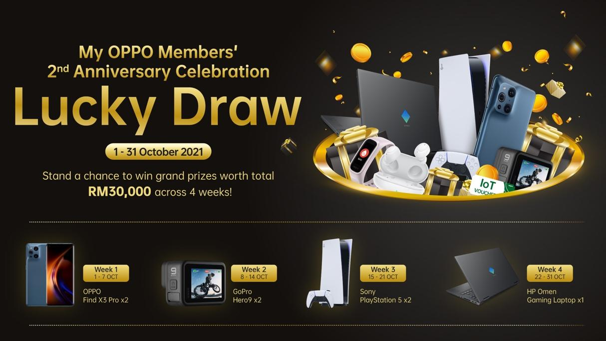 OPPO Members' 2nd Anniversary Celebration Offers RM2 Deals and Rewards Worth Up to RM4 million 18