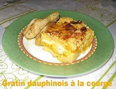 Recette du Gratin Dauphinois à la citrouille
