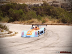 Single seater racer in Gulf colors