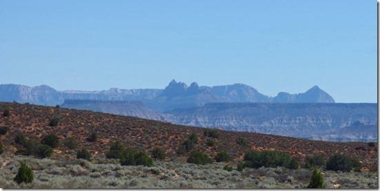 Near Utah Arizona border, I-15