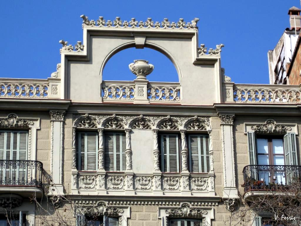 Casa forcada i barcelona modernista - Casa modernista barcelona ...