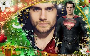 Henry Cavill December Calendar