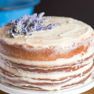 Vanilla Lavender Cake