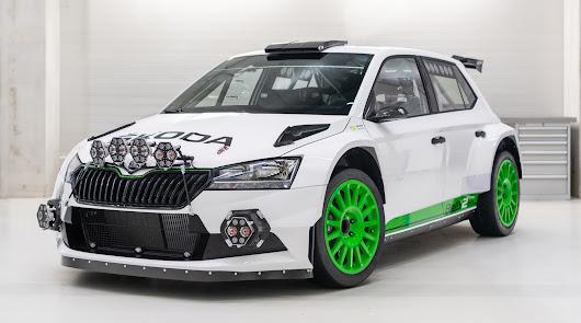 Skoda celebra sus 120 años de competición con la edición limita del Fabia Rally2