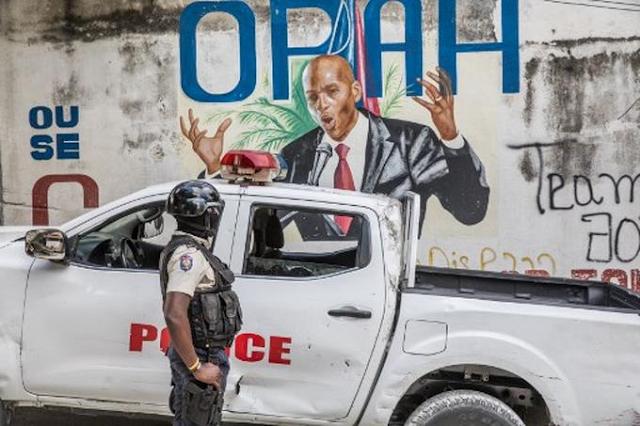Dos policías y un civil arrestados por el magnicidio en Haití