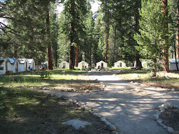 Guest tents at Merced Lake HSC.
