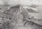 """4.Excavación de la """"uña"""" de la represa principal"""