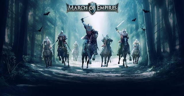 March of Empire 18. Güncelle neden Bazı Detaylar