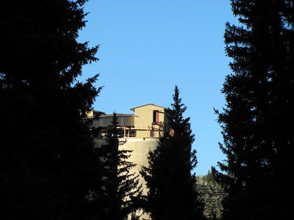 Coal silo at Skyline Mine