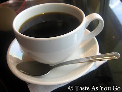 Cup of Coffee at Corner Cafe in Atlanta, GA - Photo by Michelle Judd of Taste As You Go