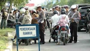 Razia Kendaraan, Berikut Titik-titik Lokasinya di Kota Jambi