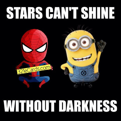 Spider Man And Minion 2016 Quote