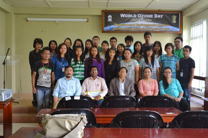 Inauguration of Environmental Club and Observation of World Ozone Day 2014