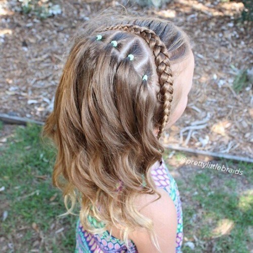 Cute Braided Hairstyles trendy for kids 2017 3
