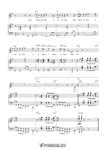 Вторая песня Яги из кинофильма «Маша и Витя против Диких Гитар»: ноты