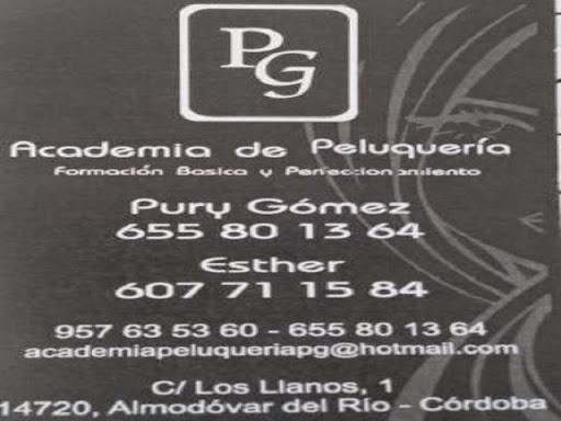 ACADEMIA DE PELUQUERIA P.G, PELUQUERIA DE SEÑORAS EN ALMODOVAR DEL RIO, ACADEMIA DE PELUQERIA EN CORDOBA,  PELUQUERIA BARATA EN ALMODOVAR DEL RIO