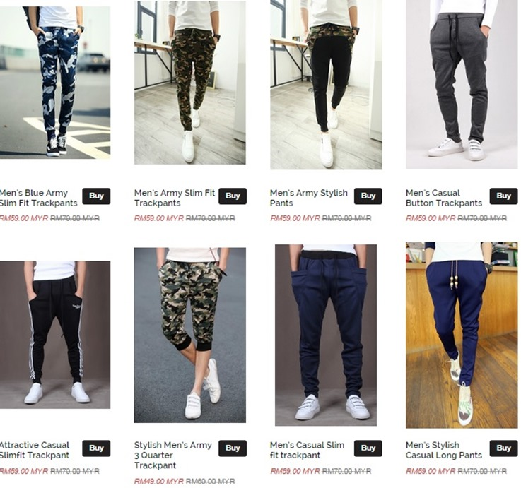 sweat pants murah