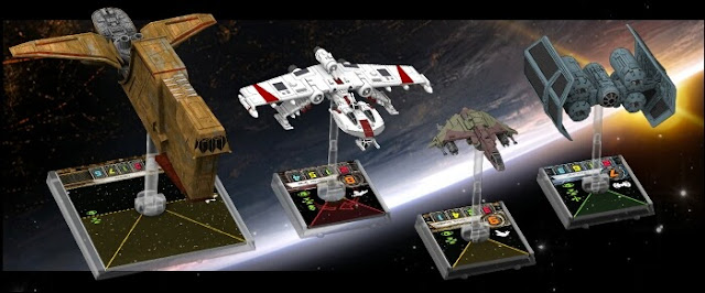 wave 7 de X-Wing Miniatures game