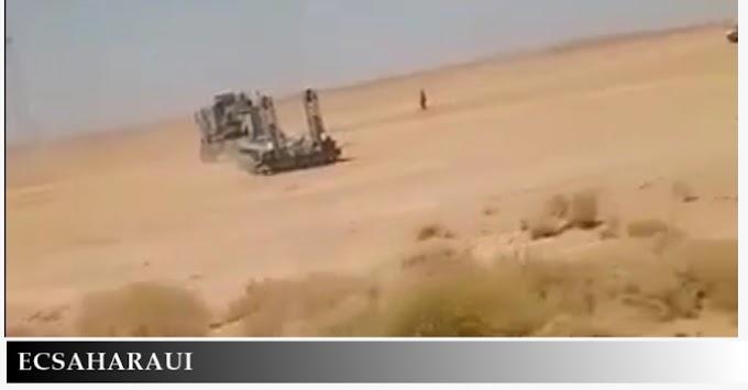 Aumenta la tensión en la frontera entre Argelia y Marruecos por la presencia de tropas (fotos y videos).