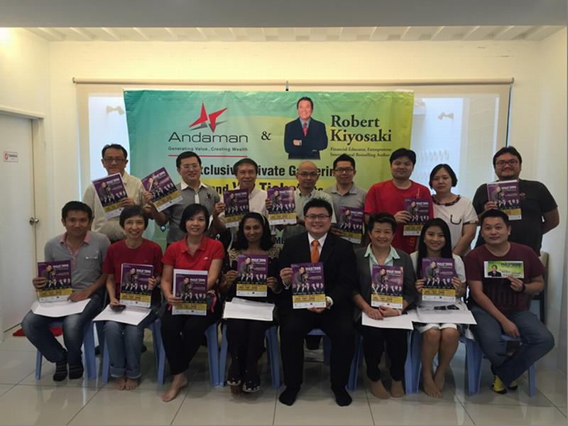 Andaman Property Group Buyers Loyalty Reward Programme with Robert Kiyosaki Live in Malaysia!