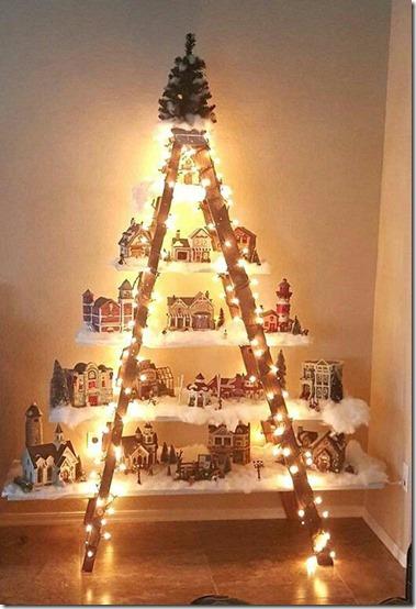 arboles de navidad con escalera buenanavidad (11)