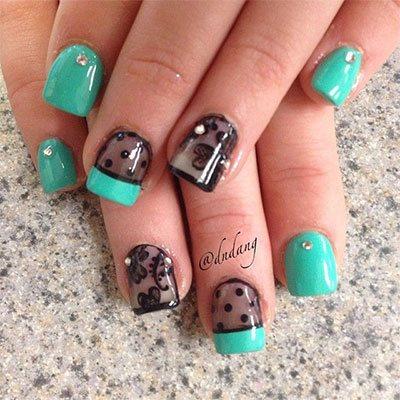 spring gel nail art 2015 2016  styles 7