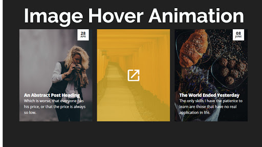 Image Hover Animation